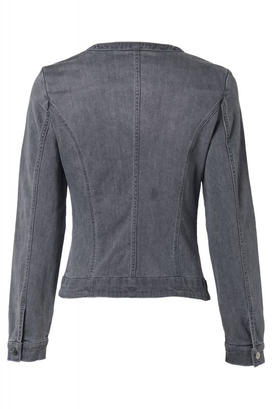Mart Visser Ryanna Denim Blazer Denim Medium Grijs.jpg
