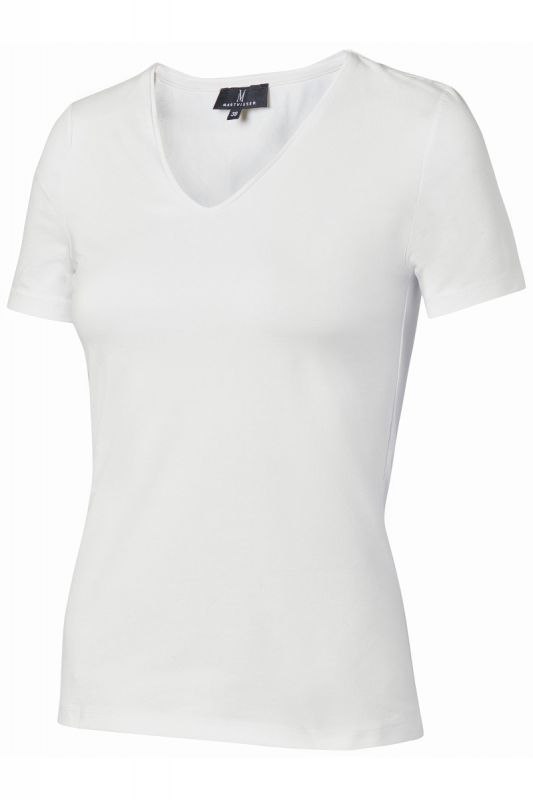 Mart Visser Basic T-shirts Wit