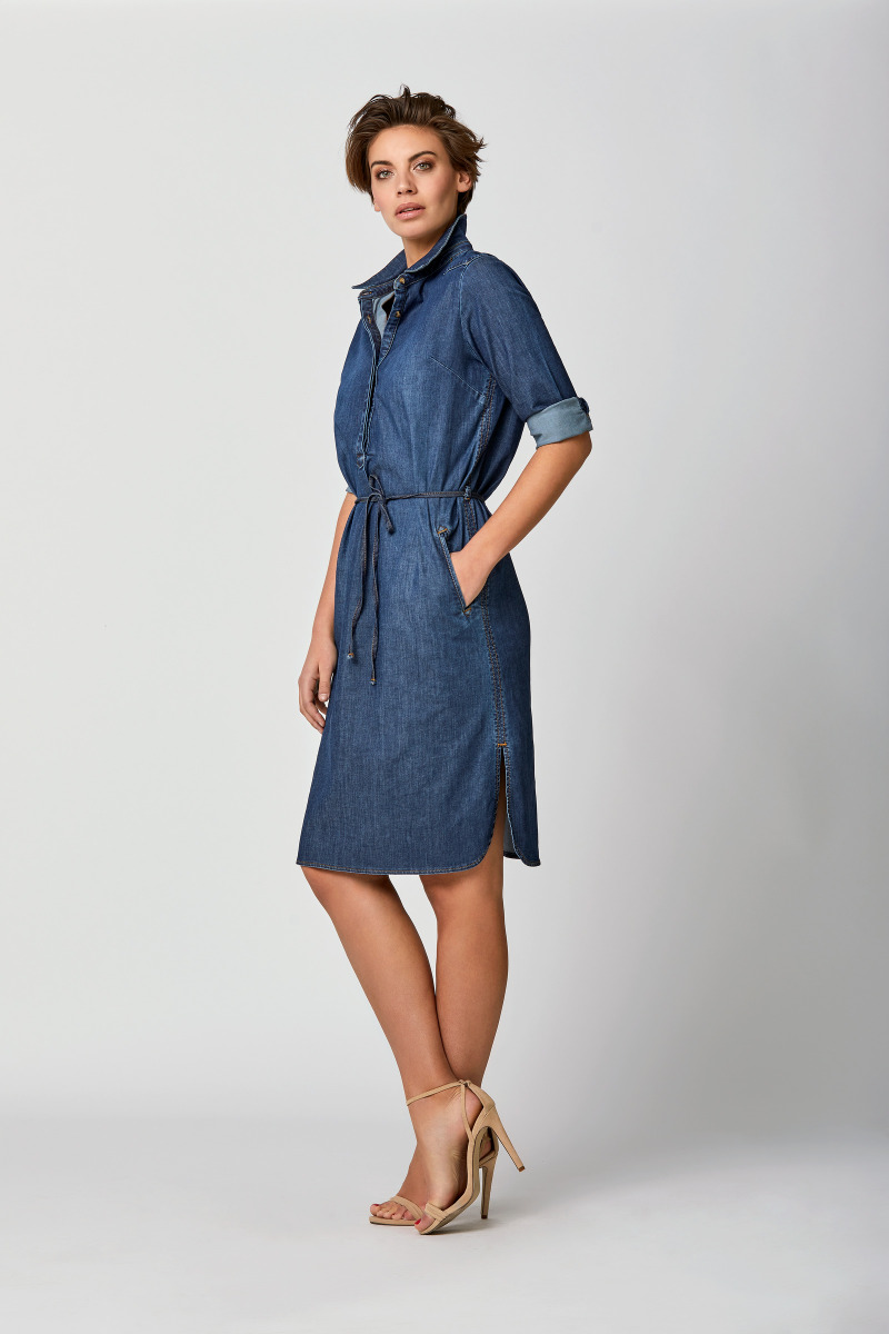 Mart Visser  davie denim tuniek jurk