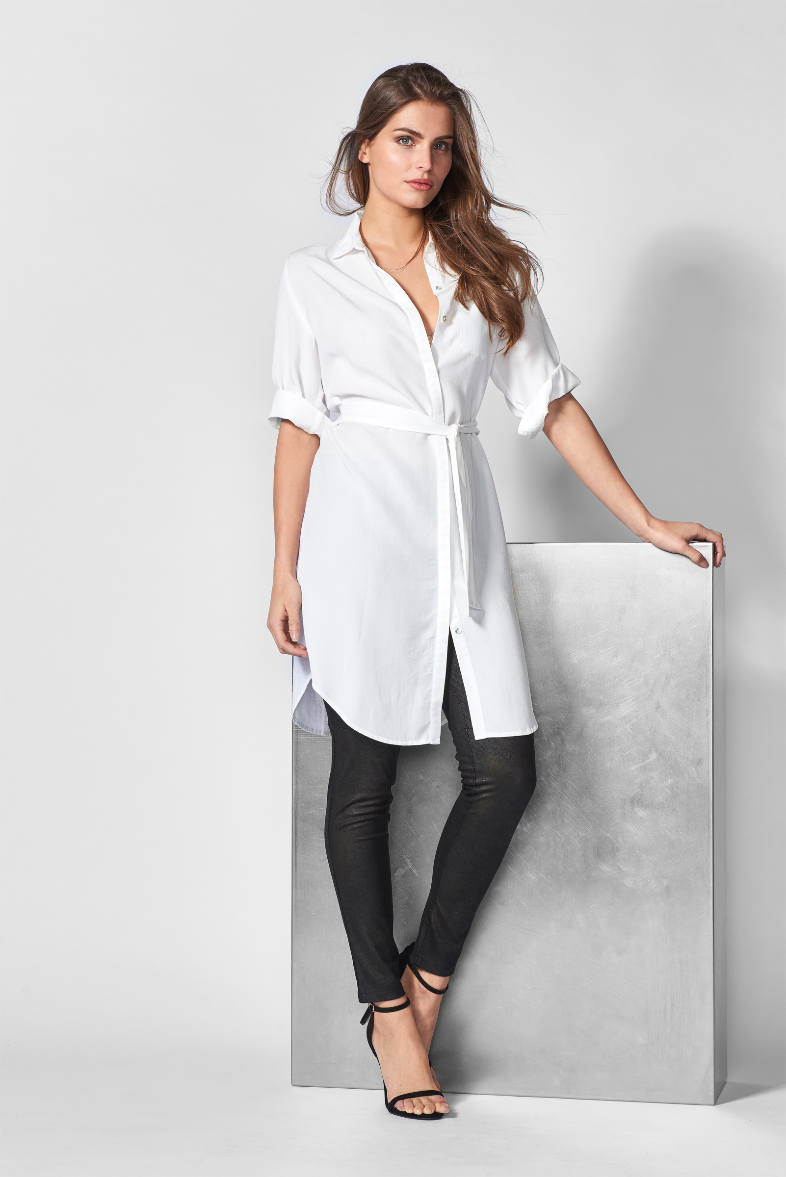 Mart Visser  hailey blouse jurk off white